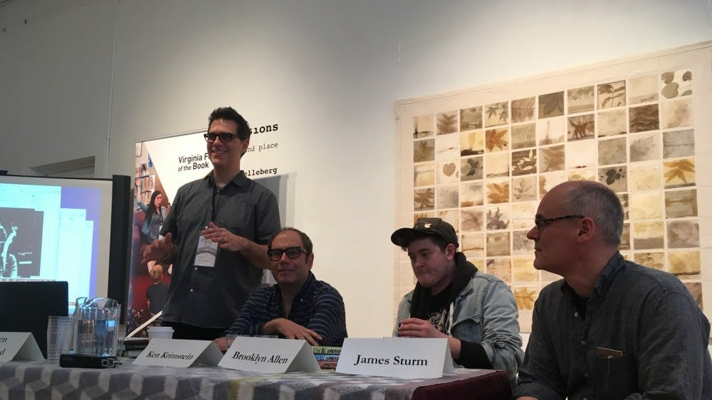 """Virginia Festival of the Book feature a panel that discussed the entrance of graphic novels into mainstream literature and the rise of """"visual literacy."""""""