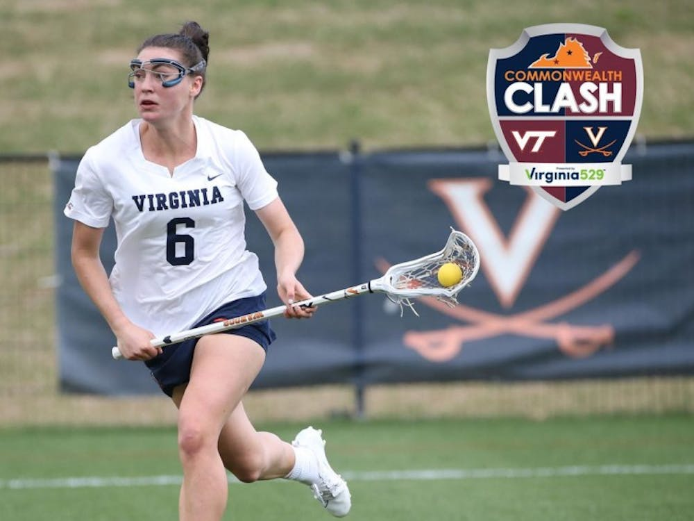 Senior attacker Avery Shoemaker led the Cavaliers with five points against Virginia Tech.