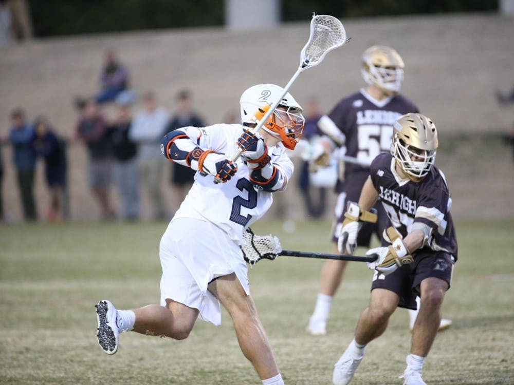 Junior attackman Michael Kraus led Virginia with an explosive four-goal performance.
