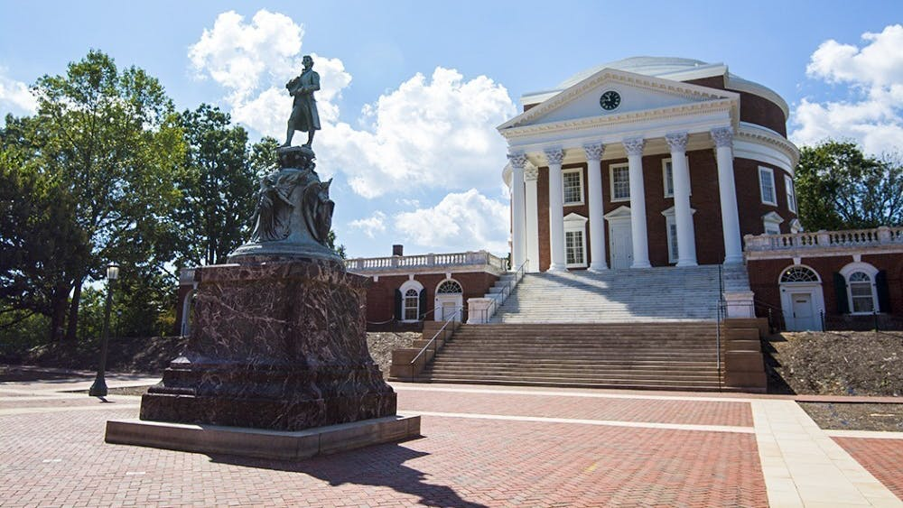The proposed resolution means that the statue of Thomas Jefferson in front of the Rotunda — as well as other statues and memorials located around Grounds — will likely be contextualized digitally.