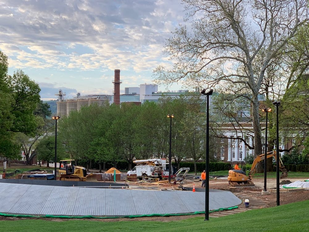 The memorial has been highly anticipated by the University community since the project officially began in December 2018.