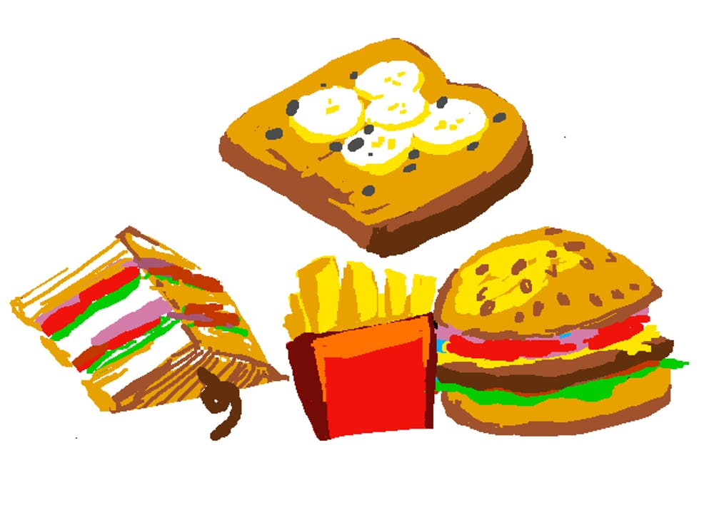 <p>For 24 hours, I ate like Lucy Hale, and my meals included toast with almond butter, a hamburger and fries and a club sandwich.</p>