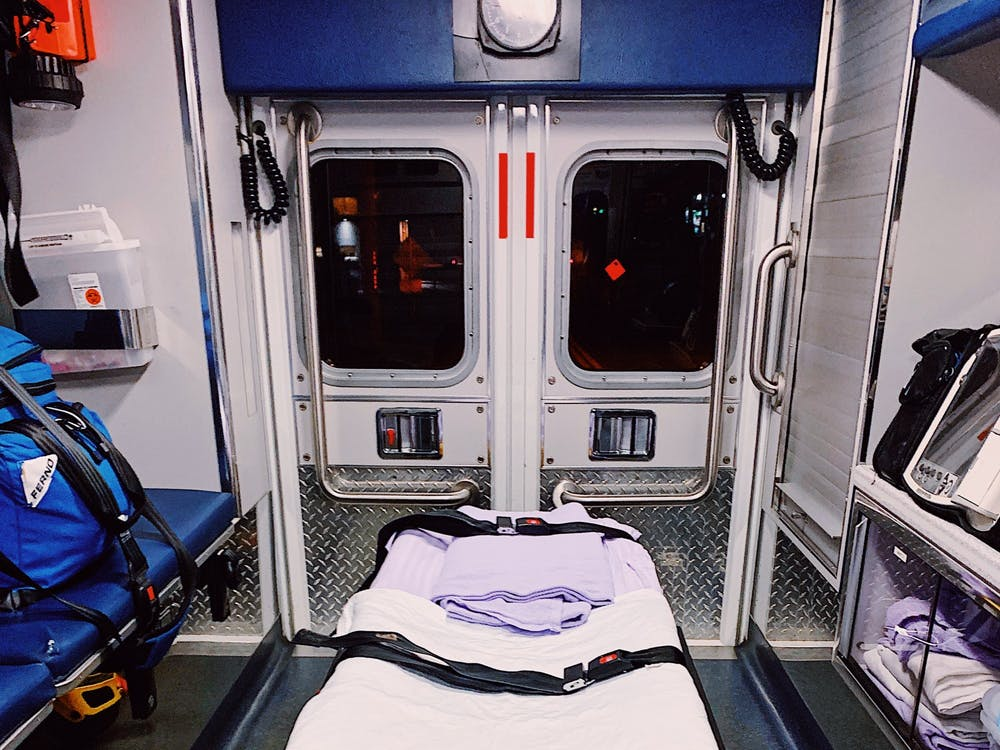From the back of the Western Albemarle Rescue Squad ambulance trucks to the hospital itself, EMTs are constantly witness to the fatal afflictions of COVID-19, and want to remind everyone that social distancing is essential.