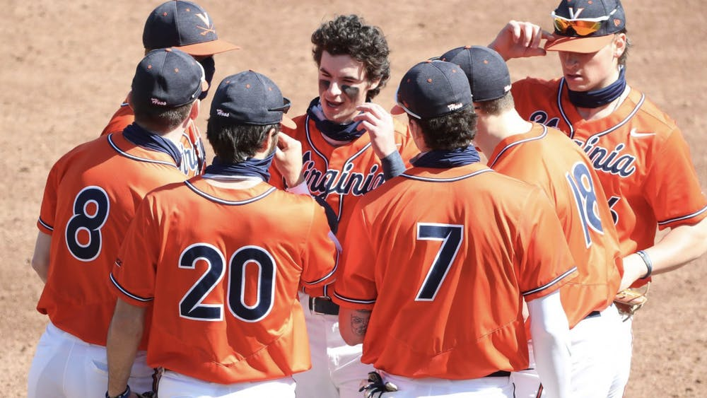 Despite losing the game, the Virginia pitching squad combined to walk a season-high nine batters.