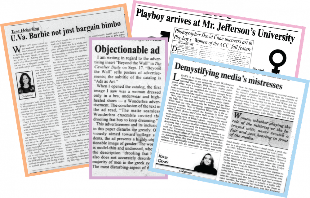 <p>The entrance of women to the University fundamentally changed the analyses of media products published in the student newspaper.</p>
