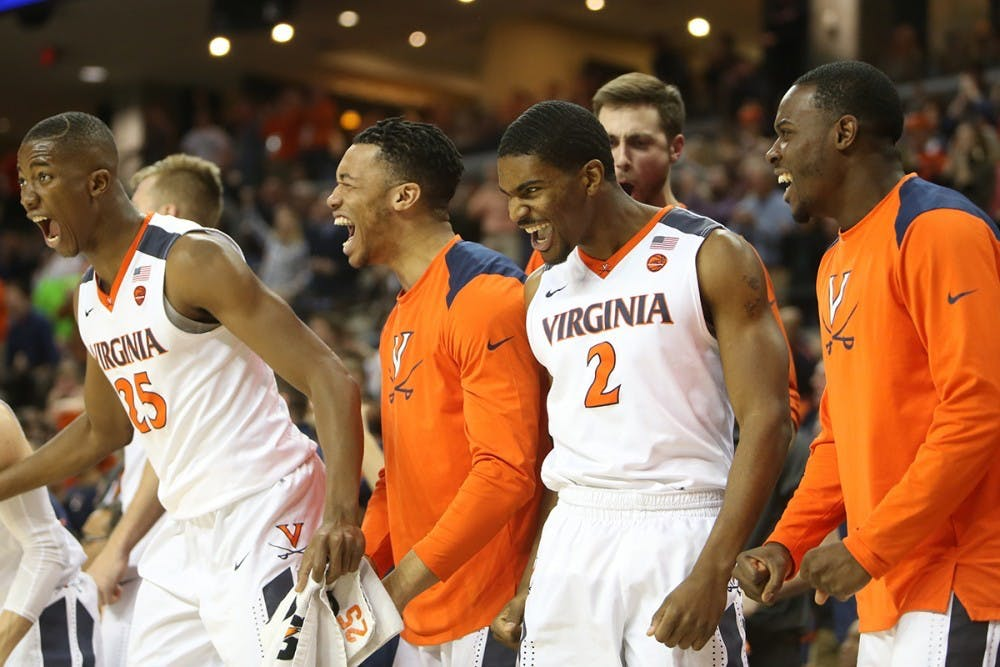 <p>Virginia men's basketball fans now get a chance to relish the No. 1 spot for the first time in more than 35 years.</p>