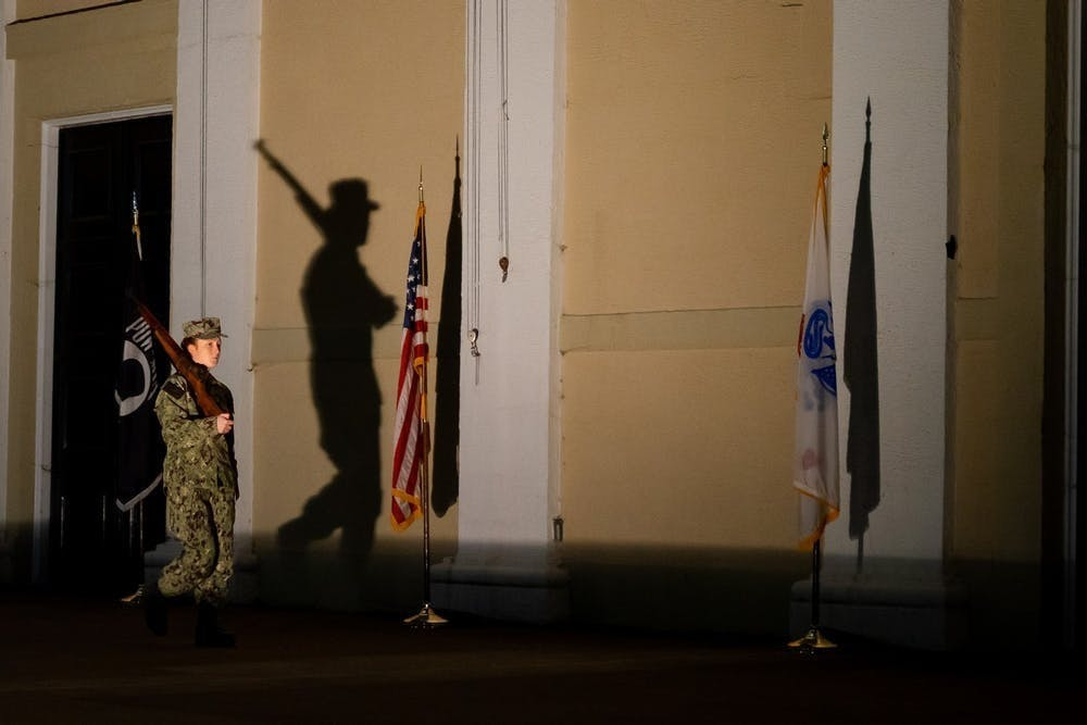 The decision to end the tribute was made by the University's provost office and the colonel of the ROTC.