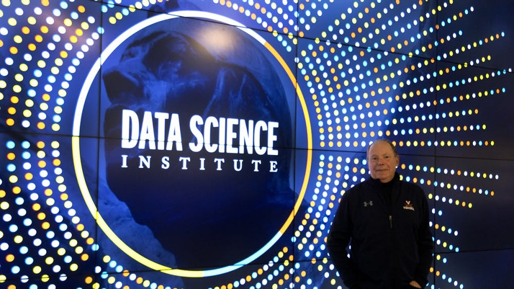 Phil Bourne is the acting dean of the School of Data Science, the current director of the Data Science Institute and a biomedical engineering professor.