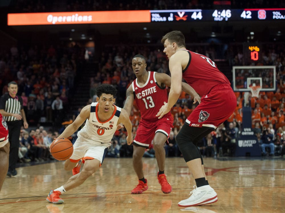 Sophomore guard Kihei Clark had a solid night on the stat-sheet, posting 10 points, seven rebounds and five assists, but it wasn't enough for Virginia to come away with the victory.