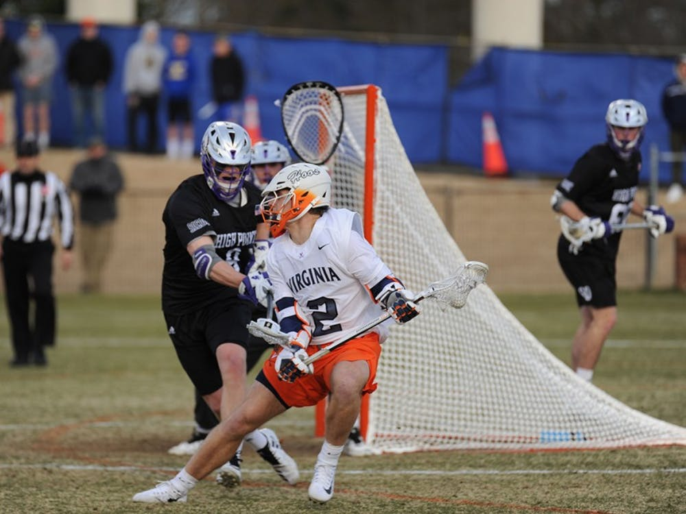 After being held scoreless against High Point, junior attackman Michael Kraus will try to return to goalscoring form against Princeton.