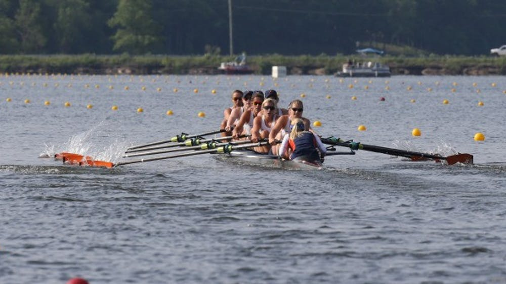 31 Virginia rowers saw their first action of the fall season this Sunday at Lake Carnegie, New Jersey.