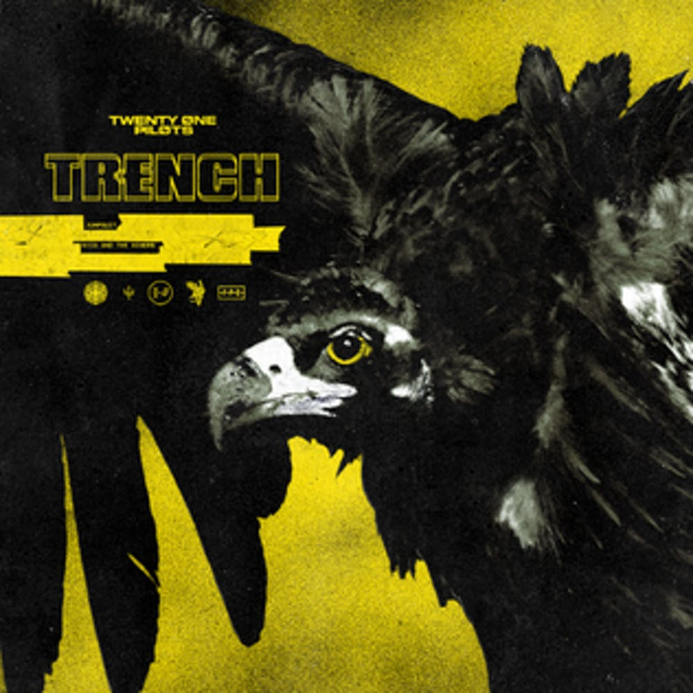 trench-album-cover. The newest singles from Twenty One Pilots  ... 4dd57202507