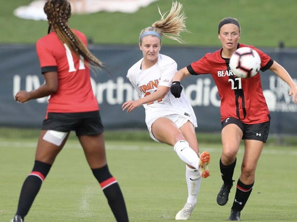 Freshman Alex Spaanstra has been a standout for the Virginia women's soccer team this season.