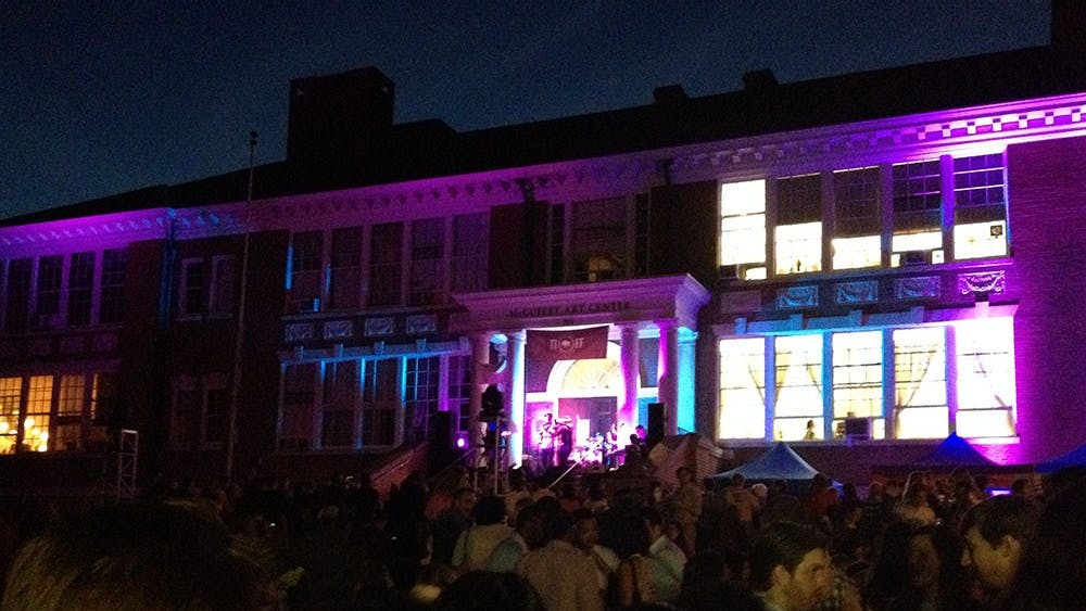The Tom Tom Founders Festival drew hundreds to Downtown Charlottesville last Friday evening for food, music and festivities.