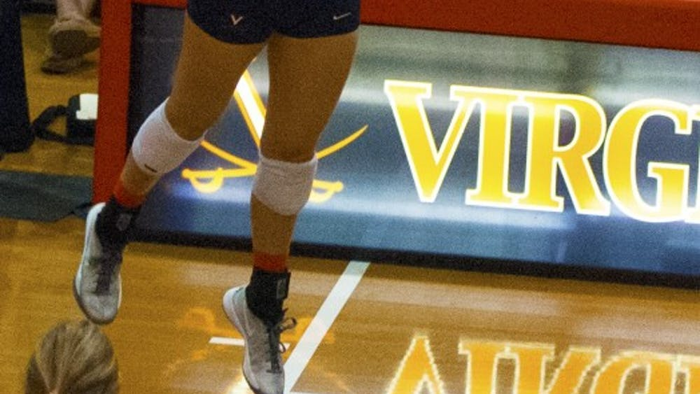 Sophomore outside hitter Haley Kole had 10 kills as the Cavaliers dropped to 1-1 against Virginia Tech this season.