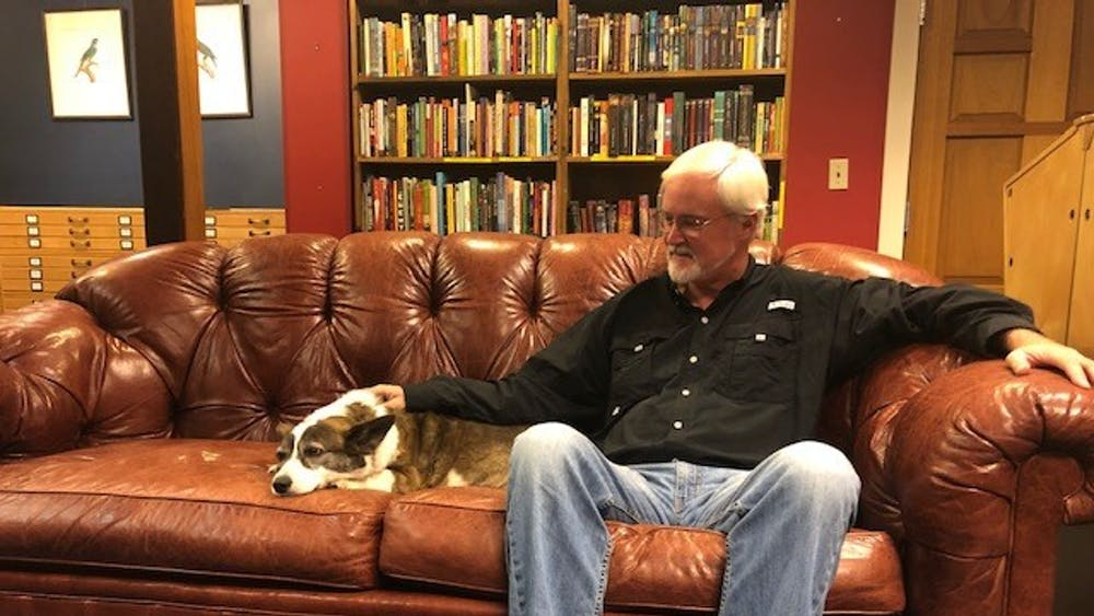 Even after 25 years, Blue Whales Books remains a popular shop for many local Charlottesville residents who want to browse through their collection of used books or even just greet the adorable Gizmo.