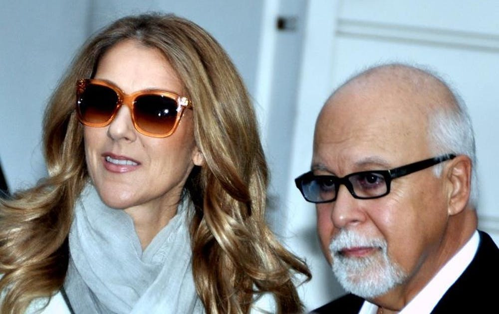 <p>&nbsp;Céline Dion, pictured here with late husband René Angélil in 2012, explores moving on from grief in latest release.</p>