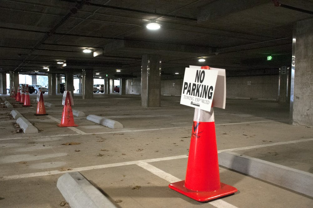 <p>36 impacted parking spaces will likely remain closed for the next several weeks.</p>