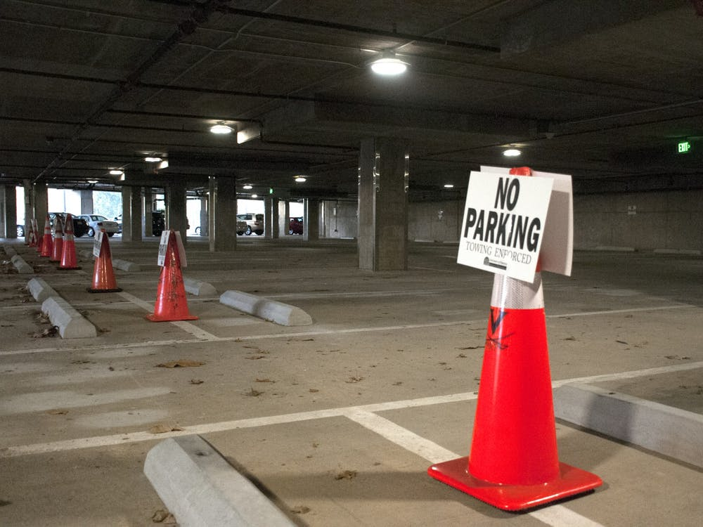 36 impacted parking spaces will likely remain closed for the next several weeks.