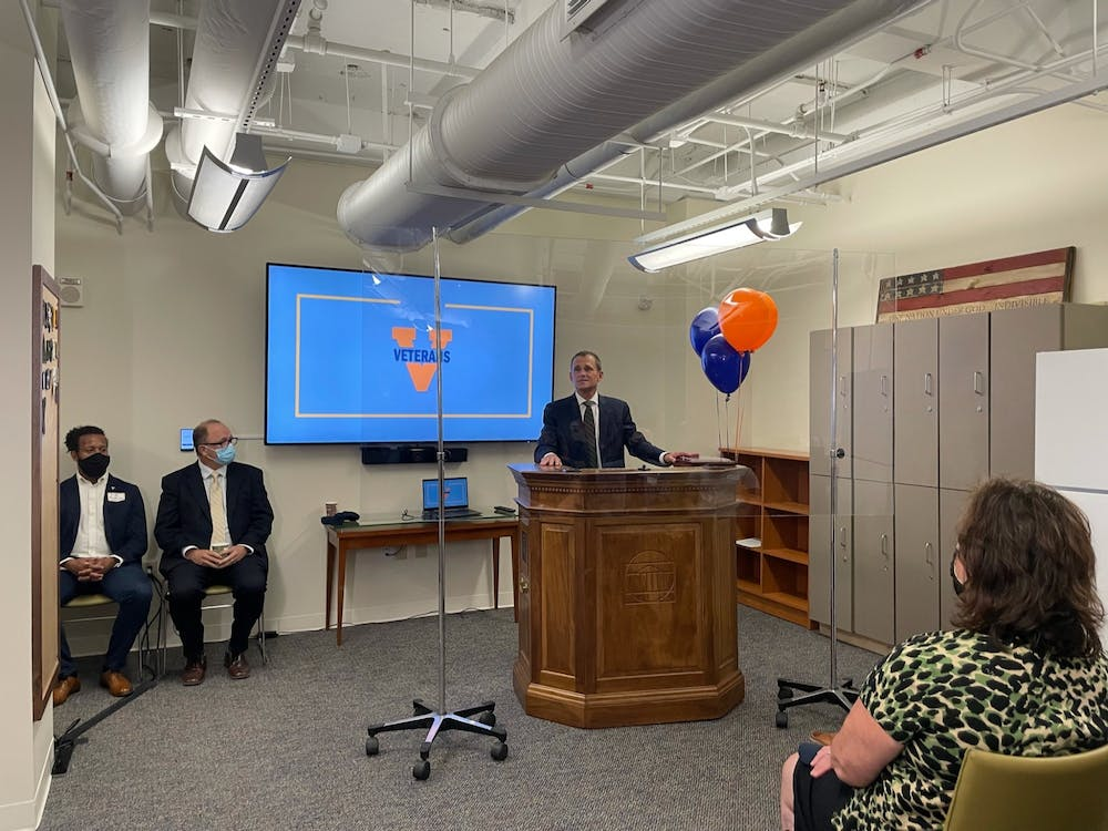<p>The center is catered towards providing a space for student veterans and active-duty ROTC students.</p>