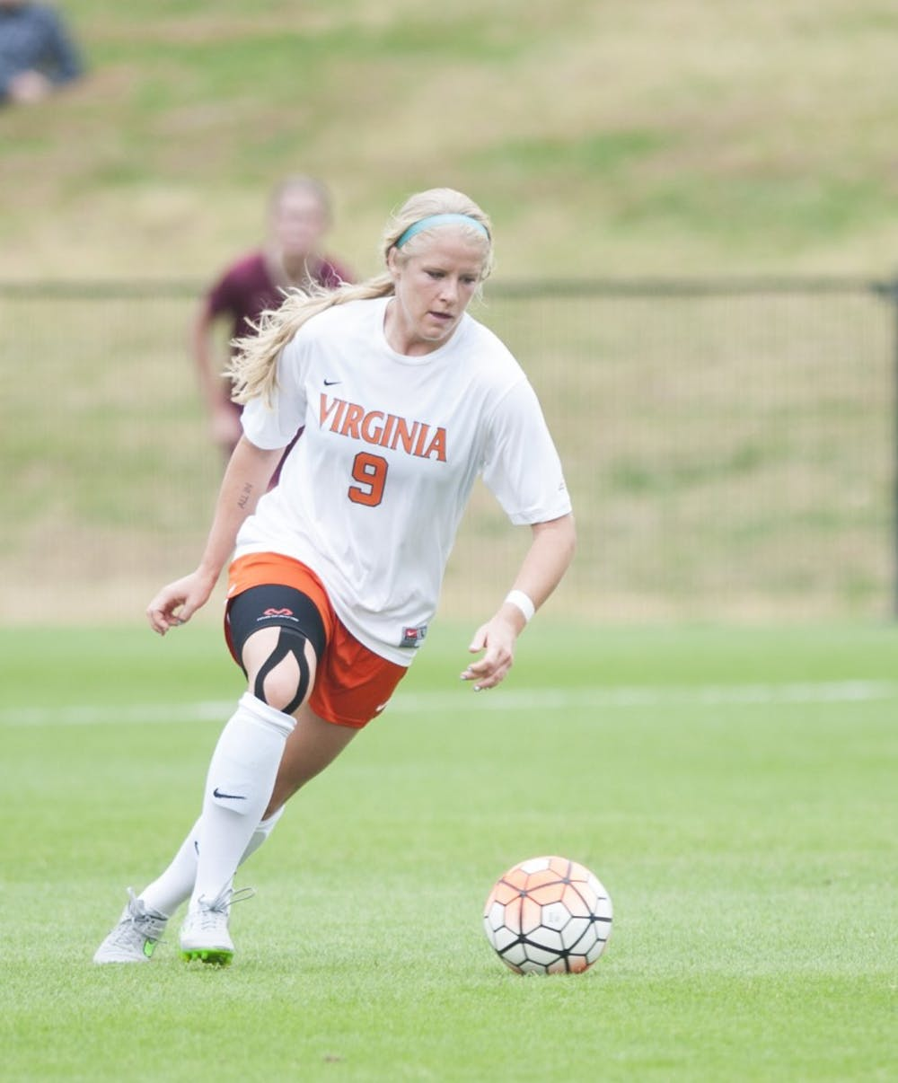<p>Senior forward Makenzy Doniak has been dogged by injury this season, but she is healthy now. Virginia's most dangerous offensive threat scored two goals against Florida State in the ACC title game.&nbsp;</p>