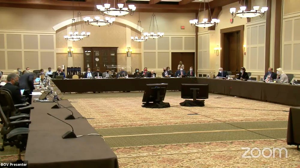 <p>At Friday's meeting, University President Jim Ryan described the University's reopening so far and Director of Athletics Carla Williams provided an update on student athletes' return to Grounds.</p>