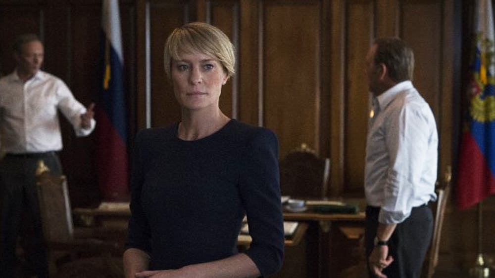 "Starring Kevin Spacey and Robin Wright, ""House of Cards"" dramatizes the innermost workings of high-level government."