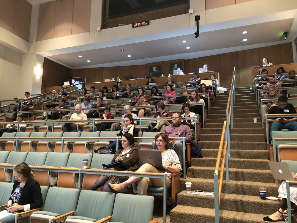 GRIT Day was held in Pinn Hall Auditorium centered around the data and overview about the program. During the evening, roundtable discussions with students, faculty and staff were held about the successes and failures of GRIT and how to improve upon these issues.