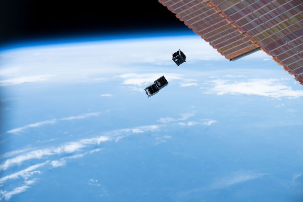 <p>On July 3rd at 10:50 am, three CubeSats were deployed from the International Space Station into orbit.&nbsp;</p>