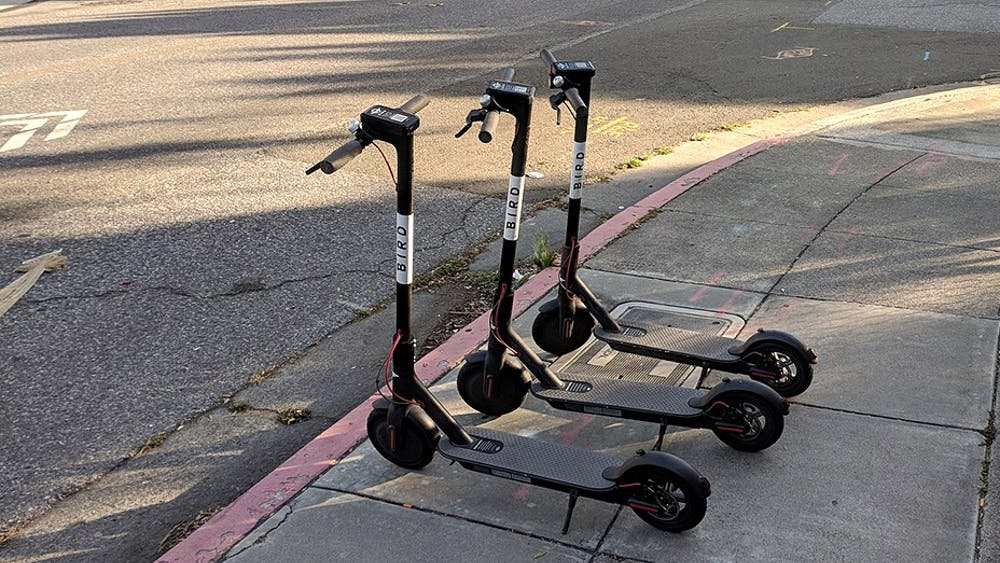 Bird, an electric scooter company, is interested in doing business in Charlottesville.