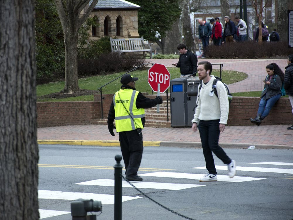 Longo, who joined UPD as police chief in October, said he immediately noticed the high amounts of pedestrian traffic throughout Grounds when he first arrived at the University.