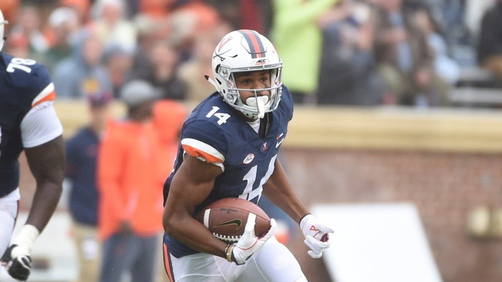 Given his performance this season, wide receiver Andre Levrone has become a name Virginia fans should know.