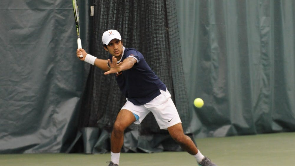 Only junior Aswin Lizen was able to pull off a victory in singles play against North Carolina.