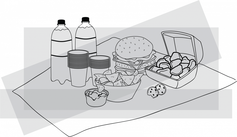<p>&nbsp;Food is fuel, but just because you might not be the one playing on the field doesn't mean you shouldn't load up for the big game. &nbsp;</p>