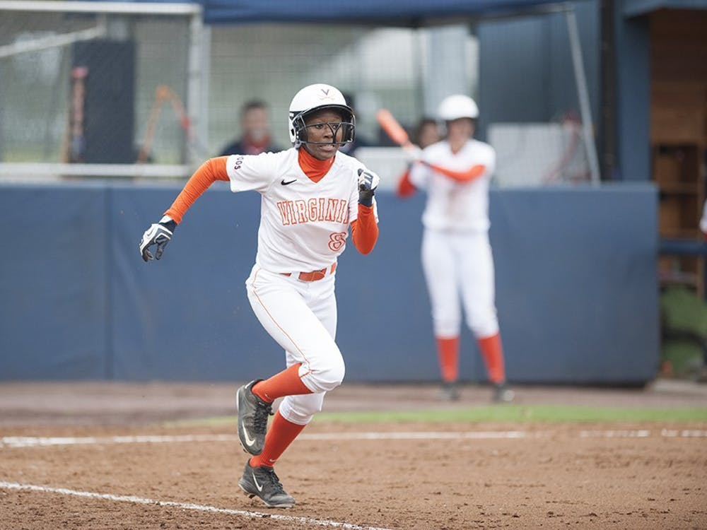 Sophomore right fielder Iyana Hughes supplied Virginia's offense in the opening game, launching a fifth-inning grand slam.