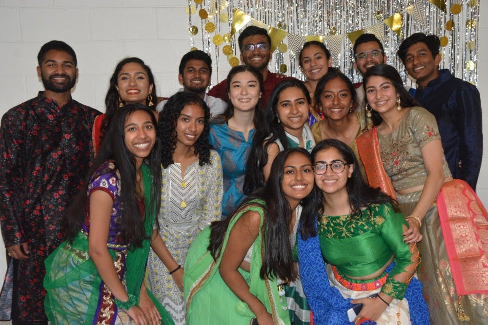 <p>The event was filled with catered vegetarian Indian food from Milan and plenty of dancing from the near 40 attendees.&nbsp;</p>