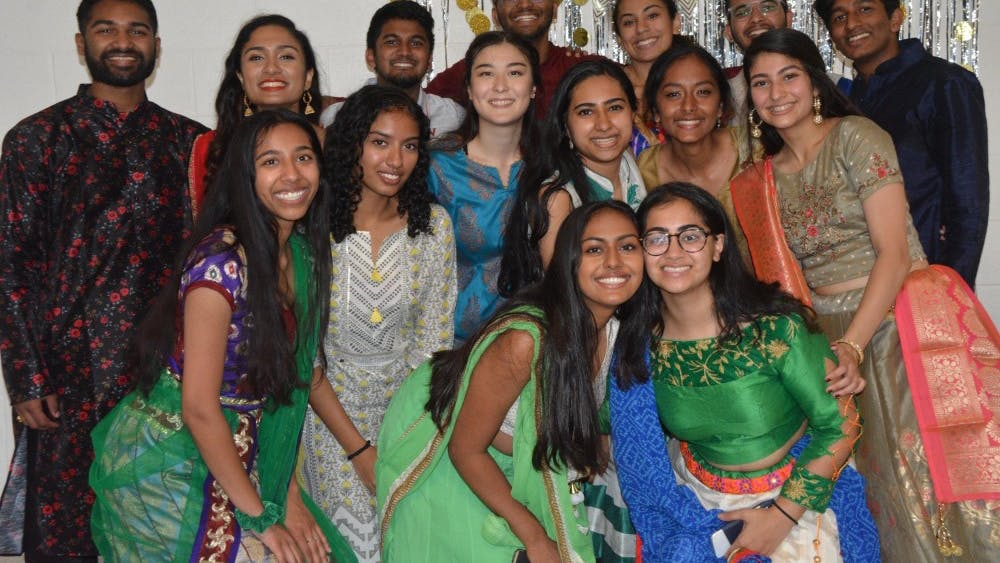 The event was filled with catered vegetarian Indian food from Milan and plenty of dancing from the near 40 attendees.