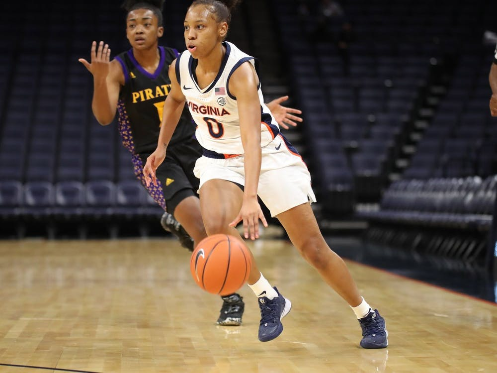 While Virginia women's basketball dropped their first two contests of the season, they showed resolve against East Carolina, coming back from a 20-point deficit before falling 54-51