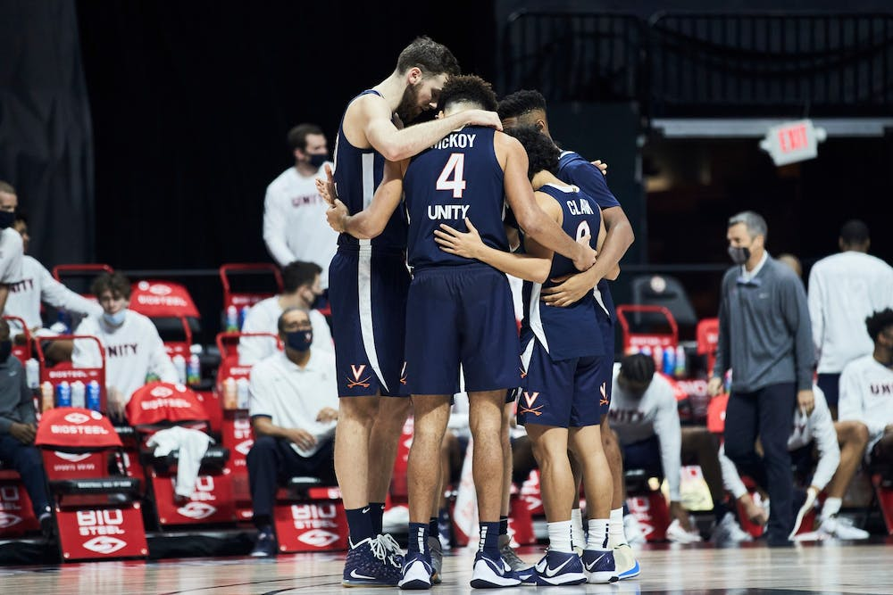 <p>Though the teams shot a similar field goal percentage, with Virginia at 41 percent and San Francisco at 40 percent, the Dons outscored the Cavaliers from the three-point line significantly.&nbsp;</p>