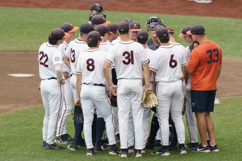 <p>Virginia fought hard to make it this far in the College World Series.</p>