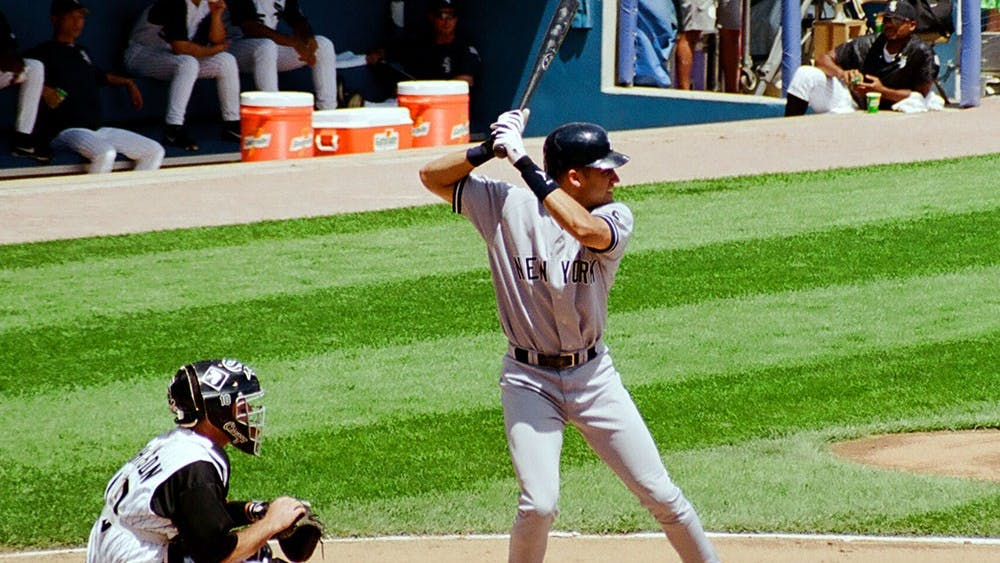Derek Jeter and the Yankees lost to the Houston Astros Tuesday in their first game of the season. Major League Baseball is back, and columnist Kerry Mitchell is glad for it.