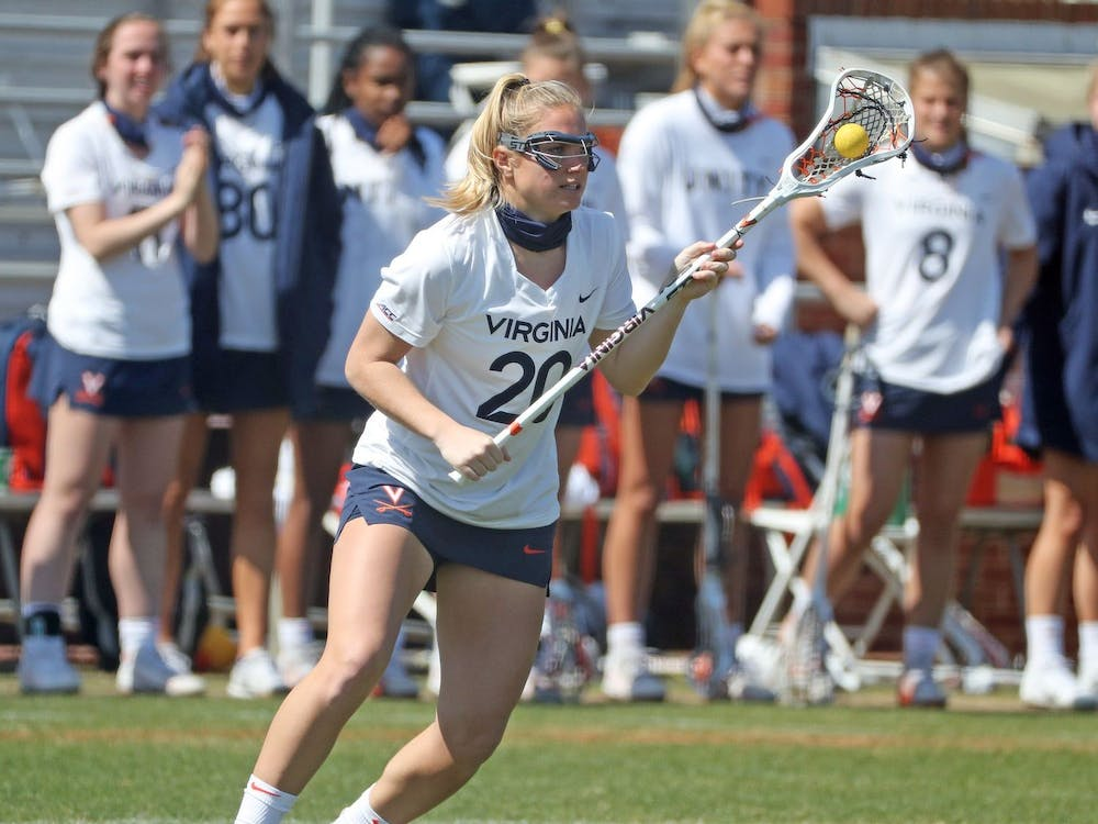 Virginia junior attacker Lillie Kloak scored a first-half goal to help the Cavaliers build an early lead.