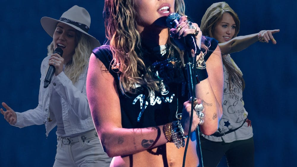 Miley Cyrus has rebranded many times since making her debut on the Disney channel in 2006.