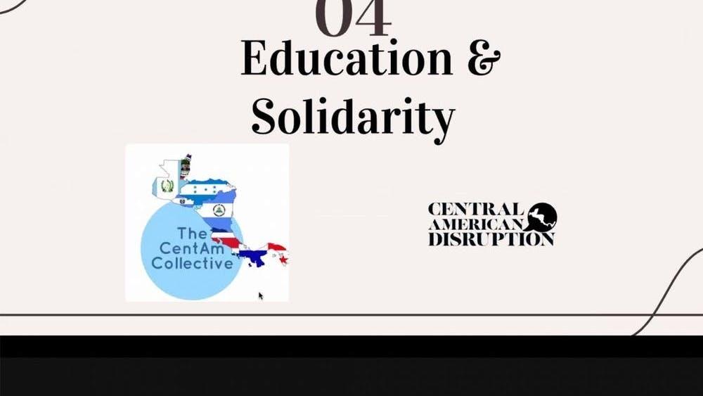 García se enfoca en tener información precisa a la que todos puedan acceder en su sitio web para estar más educados e informados sobre la cultura centroamericana.