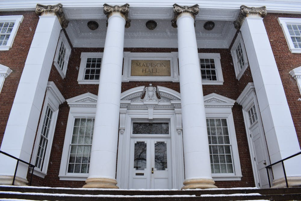 <p>Pres. Jim Ryan announced the change to the University's paid parental leave policy Tuesday.</p>