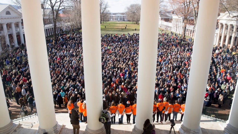 The protest encouraged students to walk out of class at exactly 10 a.m. and was planned by Student Council in coordination with the National School Walkout campaign.