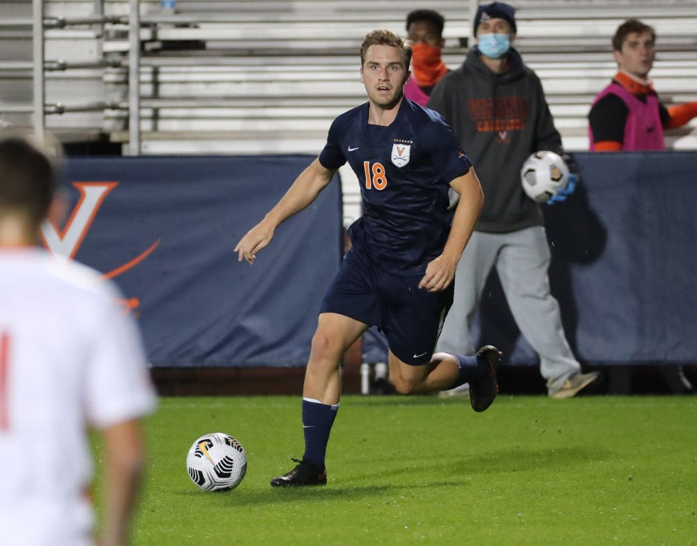 <p>Sophomore forward Axel Gunnarsson was almost the hero for the Cavaliers before a late penalty kick lifted the Tigers to victory.</p>