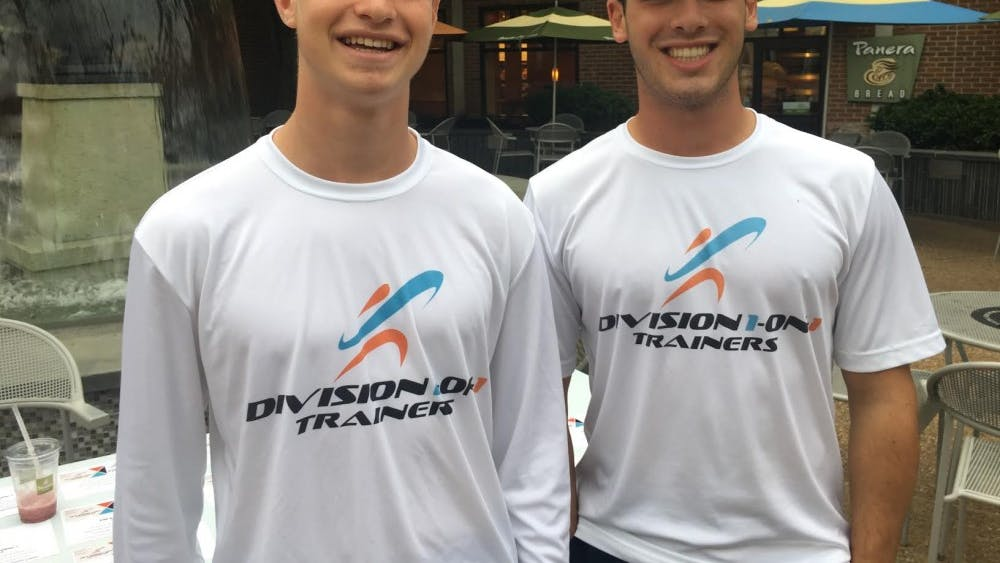 Jared Vishno and Grant Sirlin founded Division 1-On-1 Trainers, the only NCAA-approved service of its kind.