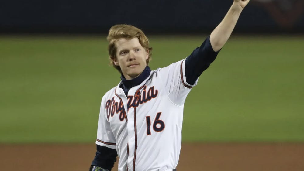 Andrew Abbott capped off his tenure at Disharoon Park Friday with 16 strikeouts and a well-deserved standing ovation.