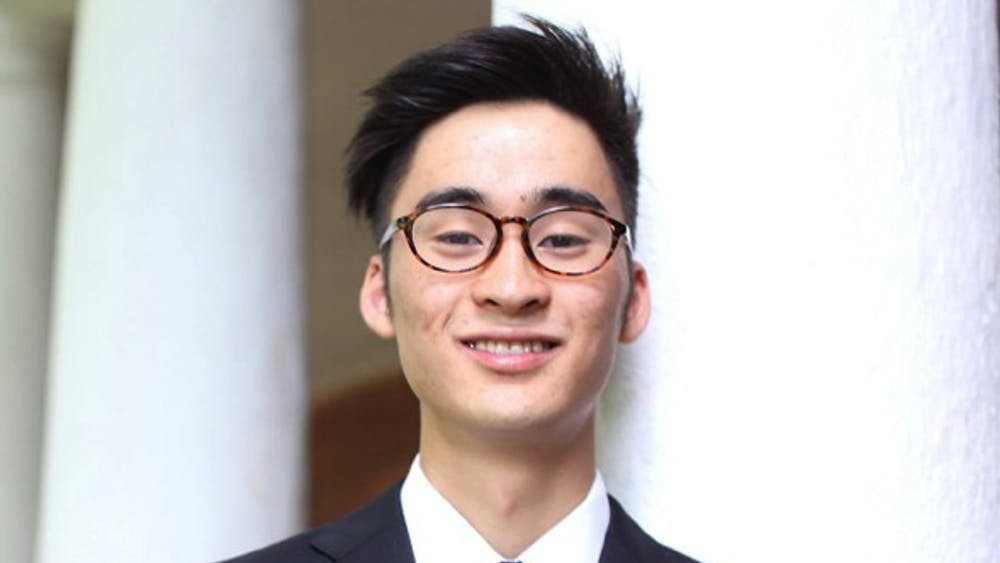 ShotaYear: FourthMajor: Biomedical EngineeringUVA Involvement: Club Tennis, Ceramics Club, University Guides, Fourth-Year TrusteesHometown: Osaka, JapanIdeal date personality: Someone who listens as well as they speak, who can explain things without simplifying. Someone who has mastered the Taoist art of how to be active without frenzy and how to get things done without pushing. These are deep virtues.Ideal date activity: I would love to wake up early on a crisp Saturday morning and head downtown to the Farmer's Market — while of course nursing a slight hangover. There, I'd look at the locally crafted pottery and subtly share that I also make pottery. We'd grab some seasonal breakfast and walk around — there's a lot to see! If the conversation is not awkward, I'd love to hang out on the Lawn afterwards and get to know her better.Dealbreakers?: Talks non-stop or never talks. Not fashion-inclusive.Describe a typical weekend: Playing tennis, sleeping 10 hours a day, wasting a lot of time on social media.Hobbies: Tennis, pottery, Settlers of Catan, volleyball, ping pongWhat makes you a good catch?: I have a variety of talentsWhat makes you a less-than-perfect catch?: My room is perpetually messy.What is your spirit animal?: RabbitWhat is your favorite pick-up line?: Are you a piece of trash? Because I really want to take you out.Describe yourself in one sentence: To be unavailable to our friends and family, to be unable to find time for the sunset, to whiz through our obligations without time for a single mindful breath — this has become the model of a successful life.